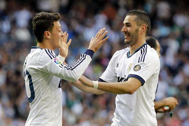 France : Özil ne comprend pas l'absence du « trésor » Benzema