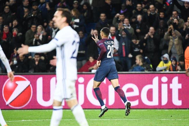 LdC : Paris cartonne, Kurzawa vole la vedette à Neymar et Cavani