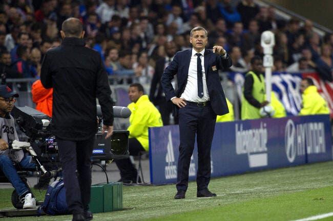 OL : Riolo félicite Génésio, plus qu'un intérimaire à Lyon