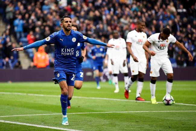 OM : Leicester envisage un départ de Mahrez dès cet hiver !
