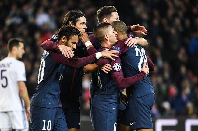 PSG – Anderlecht 5-0