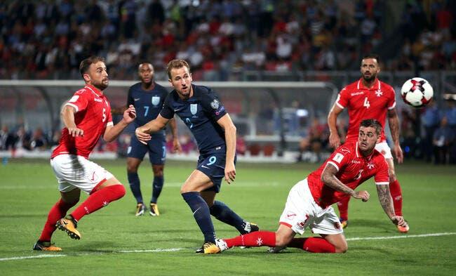 CdM 2018 : Malte - Angleterre 0-4