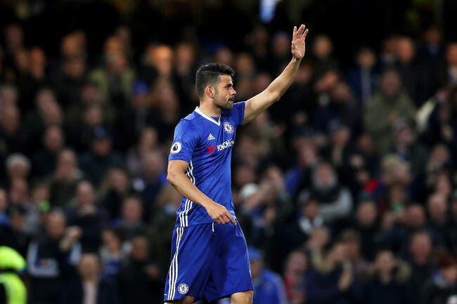 Chelsea: Diego Costa dans la liste pour le championnat