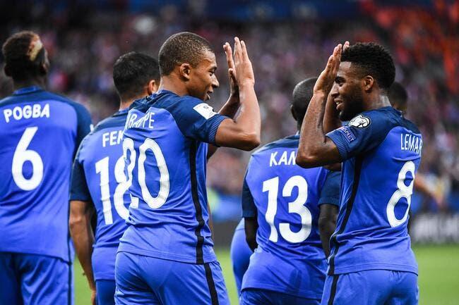 France : Mbappé et Lemar font kiffer Deschamps
