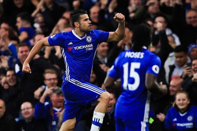PL : Chelsea pourrait réclamer plus de 50ME à Diego Costa !