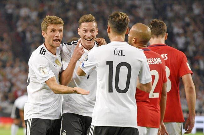 CdM 2018 : 8 sur 8, l'Allemagne n'est plus qu'à un pas du Mondial