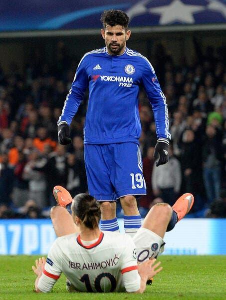 LdC : Ibra dans la liste de Man Utd, pas de Diego Costa avec Chelsea