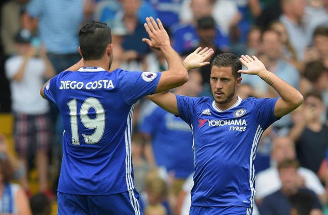 PL : Hazard prend position dans le dossier Diego Costa !