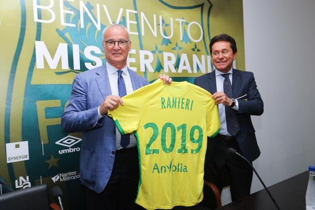 FCN : 3,6ME par an pour Ranieri ? La réponse foudroyante de Kita