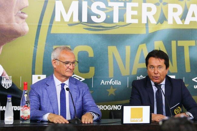 FCN: Le mercato de Kita n'est pas suffisant balance Ranieri