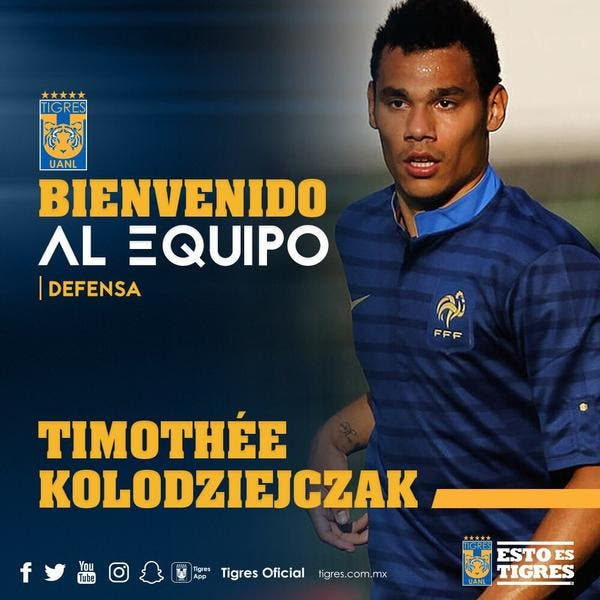 Officiel : Timothée Kolodziejczak signe chez les Tigres