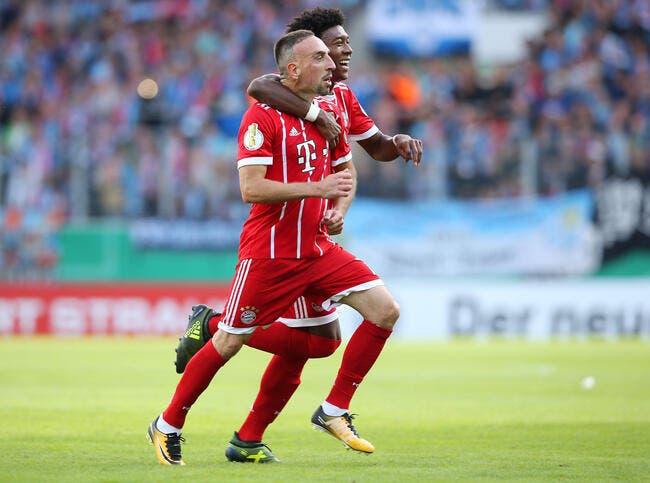 LdC: Avant Paris, Ribéry envoie un message autoritaire au Bayern