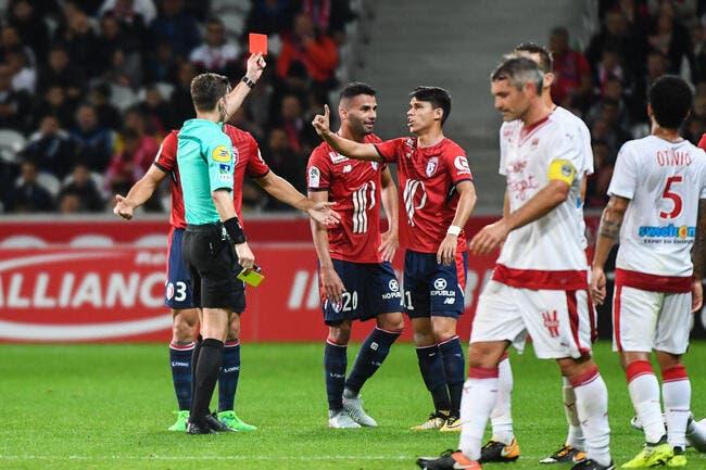 Le LOSC, encore à 10, évite le crash contre Bordeaux