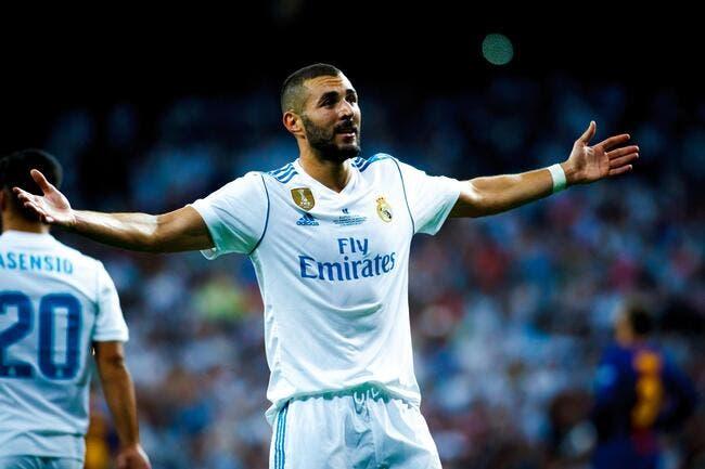 Benzema prolonge au Real avec une clause astronomique