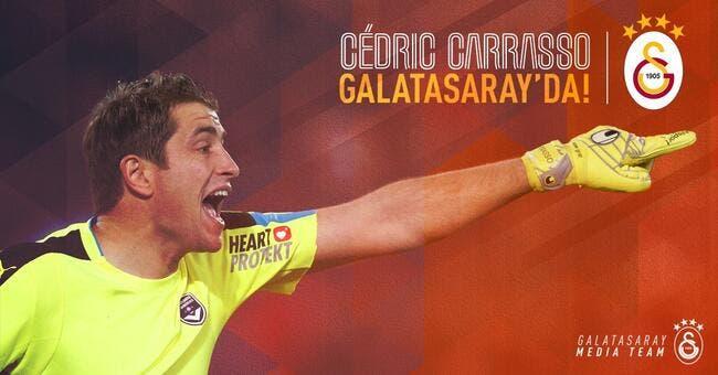 Officiel: Cédric Carrasso signe à Galatasaray