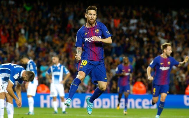 Liga : Triplé de Messi, une passe de Dembélé... Le Barça gagne 5-0