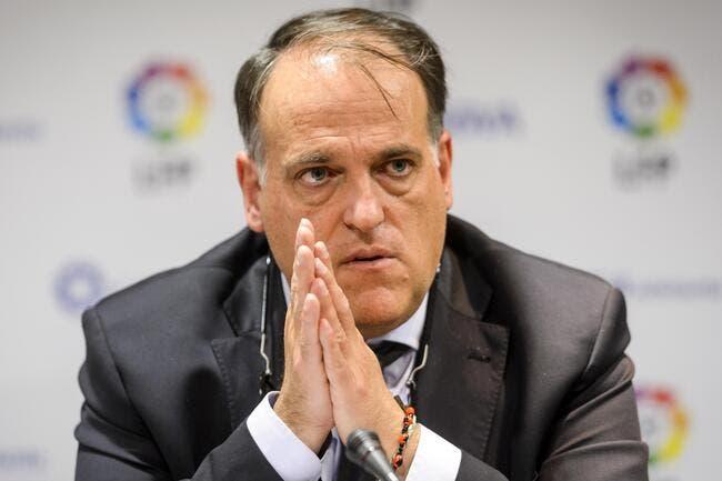PSG: Tebas toujours déchaîné contre le Qatar pour contourner le FPF