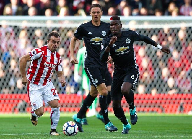 Stoke City - Manchester United : 2-2