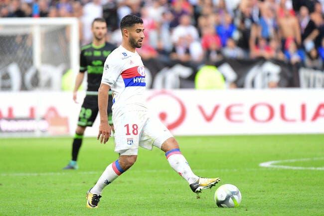 OL : Fekir préfère oublier le jeu (très) poussif de Lyon