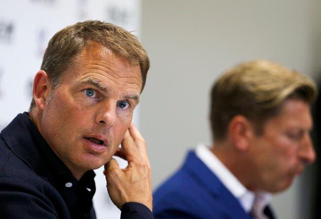 PL : Frank de Boer viré par Crystal Palace, Hodgson pour le remplacer ?