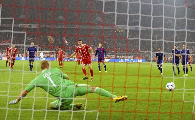 Bayern Munich - Anderlecht 3-0