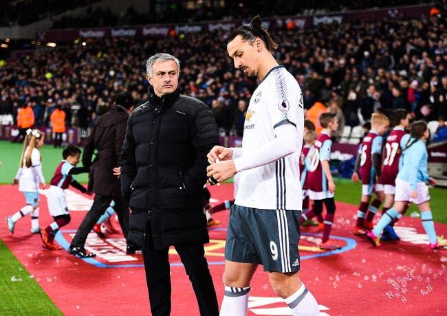José Mourinho est obligé de calmer Zlatan Ibrahimovic