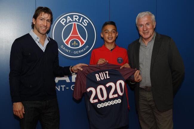 PSG : La célèbre pépite de 15 ans Kays Ruiz signe aspirant pro au PSG !