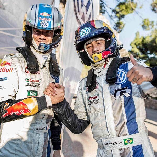 Vidéo : Neymar se fait secouer par le champion du monde des rallyes