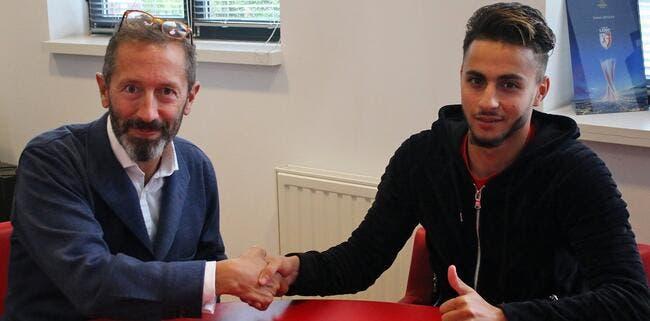 Officiel : Imad Faraj prolonge à Lille jusqu'en 2022