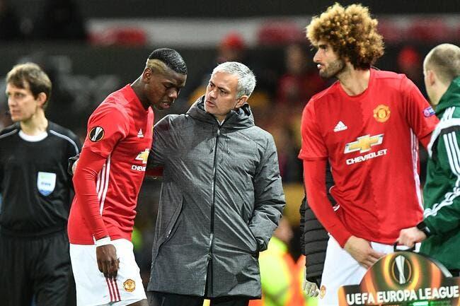 MU: Mourinho accuse Pogba pour sa blessure
