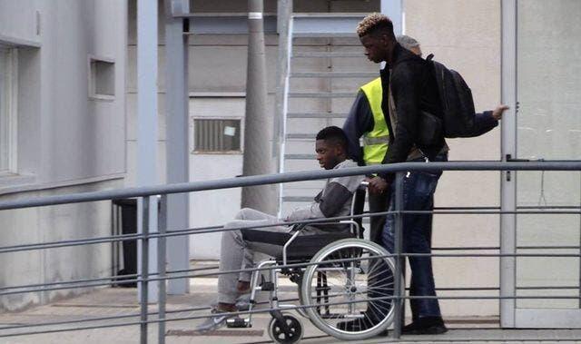 Barça : Dembélé est en Finlande pour se faire opérer