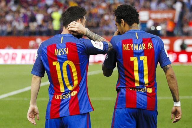 PSG : Messi est indiscutable aux yeux de Neymar, pas Cavani