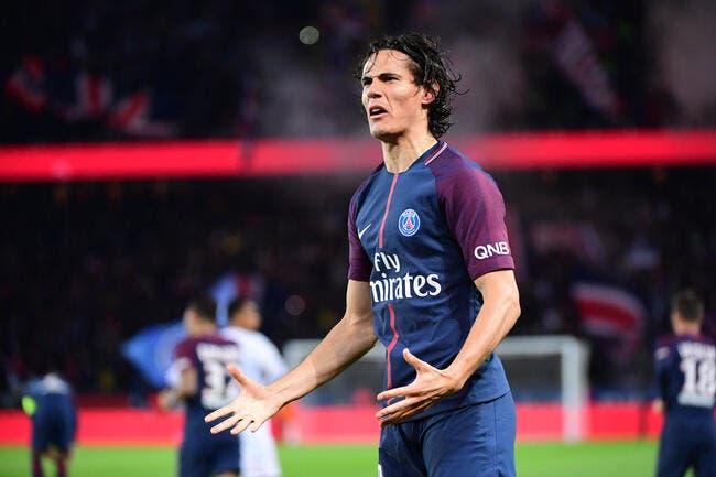 PSG : Deux clubs anglais misent sur une sale saison de Cavani à Paris