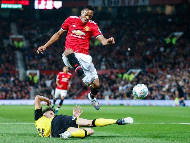 MU : Mourinho lui a donné sa chance, Martial l'a prise