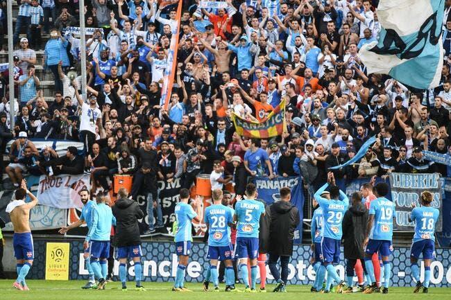 OM : Deux victoires «en bois», les supporters se calment
