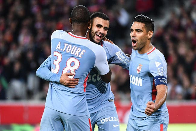 Ligue 1: Monaco garde le cap tandis que Lille sombre