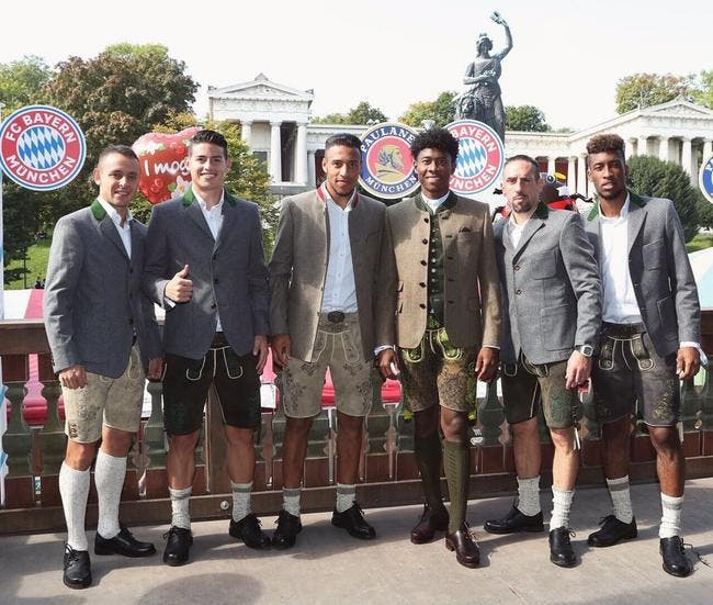 All : Ribéry, Tolisso, Coman..les Français s'éclatent à la fête de la bière