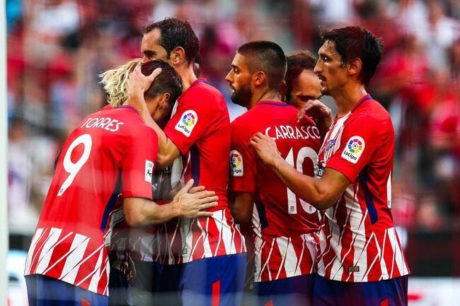 Atlético Madrid - FC Séville : 2-0