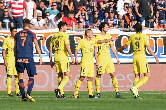 Montpellier - PSG : 0-0