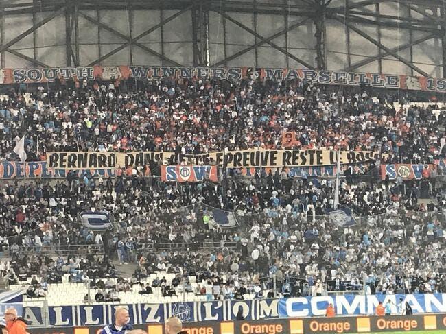 OM : Le Vélodrome envoie son soutien à Bernard Tapie