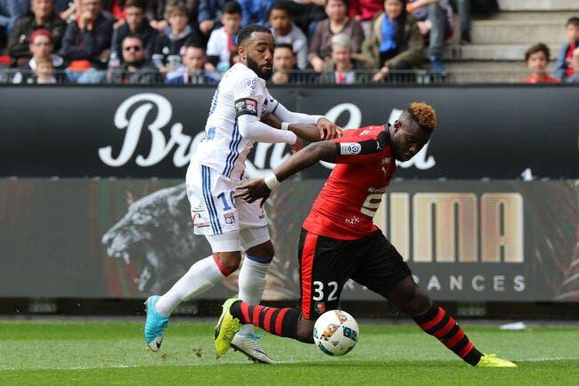 Rennes : Gnagnon a été bluffé par Lacazette et Zlatan en L1
