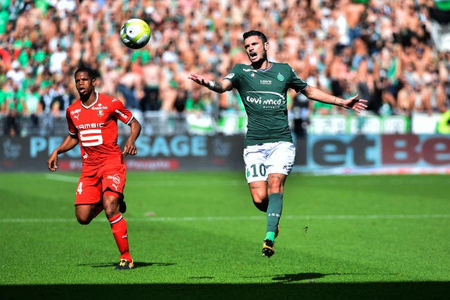 Saint Etienne - Rennes : 2-2