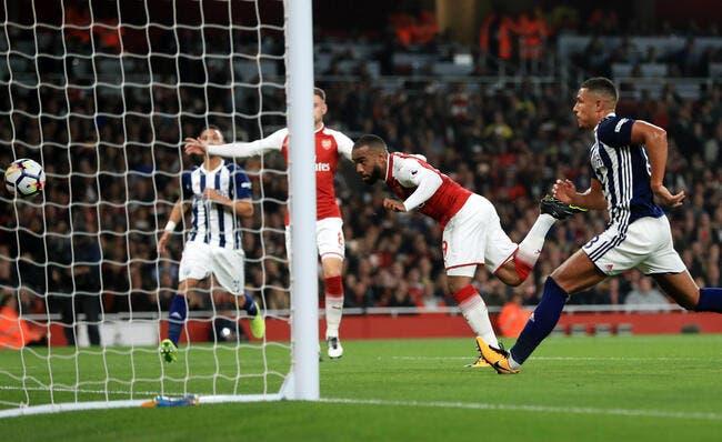 PL : Lacazette rentre déjà dans l'histoire d'Arsenal
