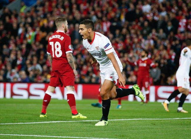 Wissam Ben Yedder flambe avec Séville — Ligue des Champions