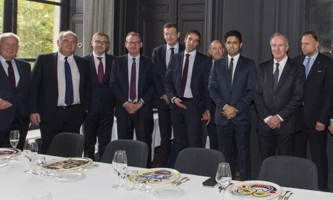 LdC : Le PSG et le Bayern se réconcilient...dans le meilleur restaurant du monde