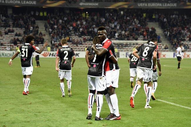 Nice - Vitesse Arnhem : 3-0