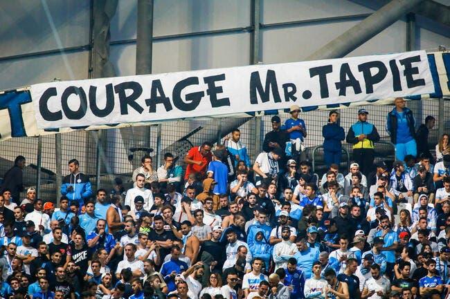 Bernard Tapie remercie les supporters de l'OM pour leur réconfort — Marseille