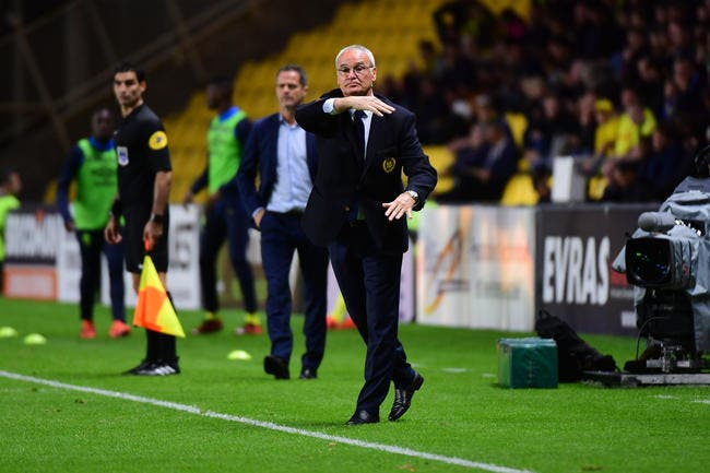 FCN : Nantes est sur le podium, mais Ranieri est « énervé »