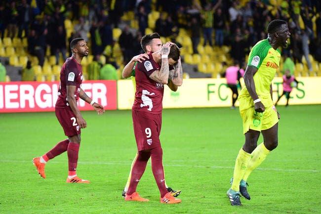 Metz : Un penalty retiré et loupé, Hinschberger « est floué »