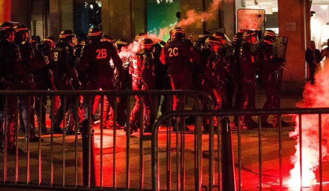 CdL : Quatre policiers blessés lors d'une bagarre entre supporters du PSG